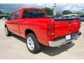 2008 Flame Red Dodge Ram 1500 ST Quad Cab  photo #3