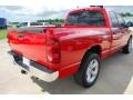 2008 Flame Red Dodge Ram 1500 ST Quad Cab  photo #8
