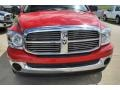 2008 Flame Red Dodge Ram 1500 ST Quad Cab  photo #10