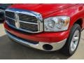 2008 Flame Red Dodge Ram 1500 ST Quad Cab  photo #11