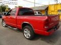 2002 Flame Red Dodge Ram 1500 Sport Quad Cab  photo #4