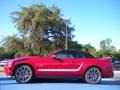 2011 Red Candy Metallic Ford Mustang GT Premium Convertible  photo #2