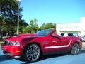 2011 Red Candy Metallic Ford Mustang GT Premium Convertible  photo #4
