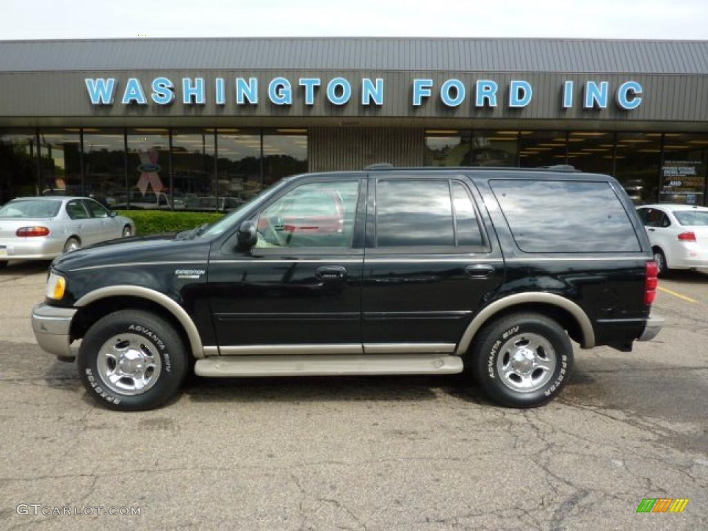 2002 black ford expedition eddie bauer 4x4 33744917 car color galleries. Black Bedroom Furniture Sets. Home Design Ideas