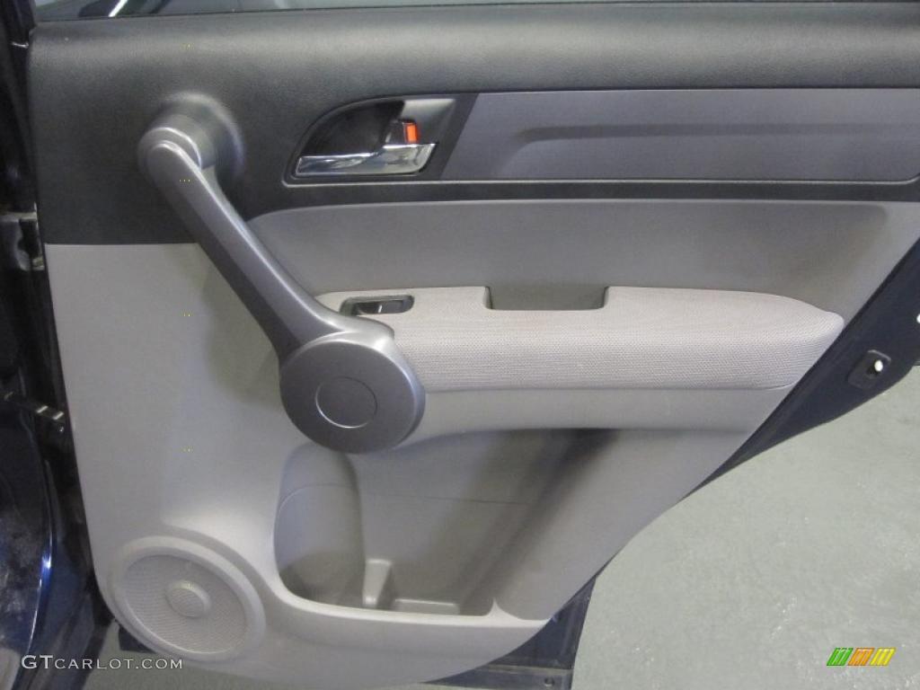 2008 CR-V LX 4WD - Royal Blue Pearl / Gray photo #8