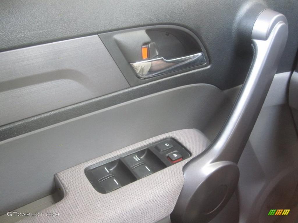 2008 CR-V LX 4WD - Royal Blue Pearl / Gray photo #10