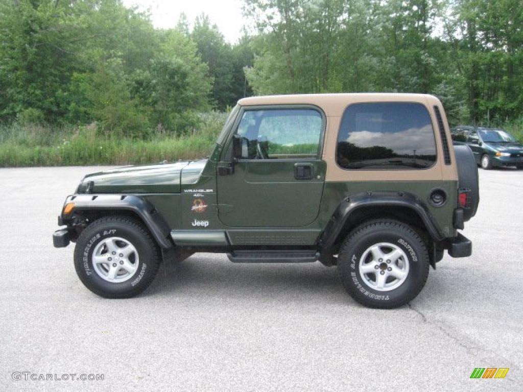 Marvelous Moss Green Pearl Jeep Wrangler. Jeep Wrangler Sahara 4x4