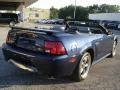 2001 True Blue Metallic Ford Mustang GT Convertible  photo #6