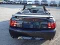 2001 True Blue Metallic Ford Mustang GT Convertible  photo #7