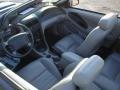 2001 True Blue Metallic Ford Mustang GT Convertible  photo #9