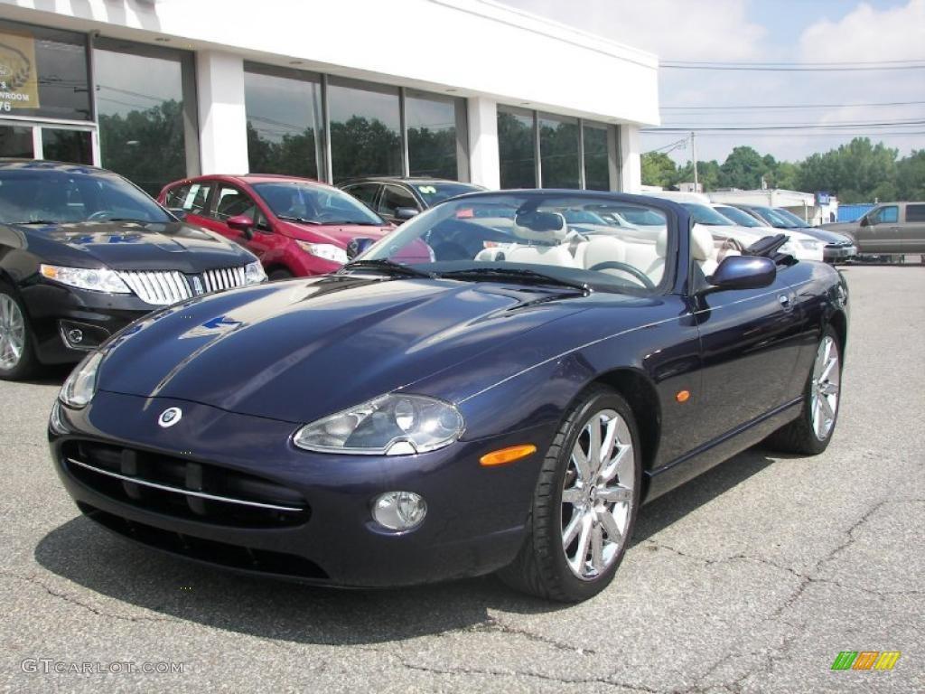Bay blue metallic jaguar xk