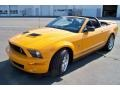 2007 Grabber Orange Ford Mustang Shelby GT500 Convertible  photo #1