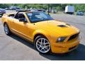 2007 Grabber Orange Ford Mustang Shelby GT500 Convertible  photo #3