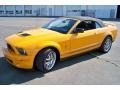 2007 Grabber Orange Ford Mustang Shelby GT500 Convertible  photo #24