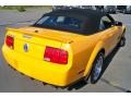 2007 Grabber Orange Ford Mustang Shelby GT500 Convertible  photo #26