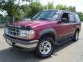 1996 Electric Red Metallic Ford Explorer XLT 4x4 #33744610