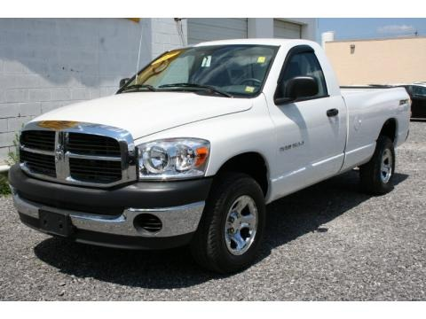 2007 Dodge Ram 1500 SXT Regular Cab 4x4 Data, Info and Specs