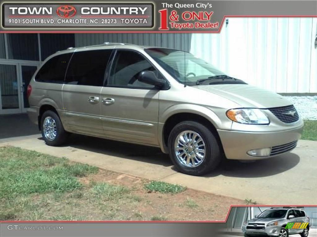 2002 light almond pearl metallic chrysler town country for Stone s town country motors