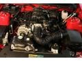 2007 Torch Red Ford Mustang V6 Deluxe Convertible  photo #11