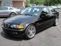 Jet Black - 3 Series 323i Sedan Photo No. 3