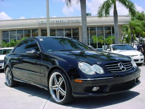 2004 Mercedes-Benz CLK 500 Coupe Data, Info and Specs