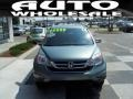 2010 Opal Sage Metallic Honda CR-V EX-L  photo #2