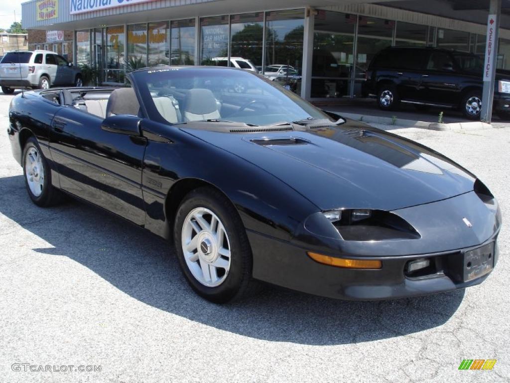 1994 Black Chevrolet Camaro Z28 Convertible 33802764