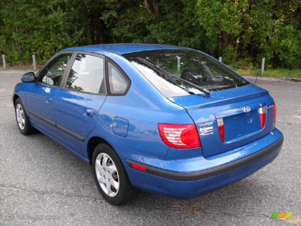 2005 tidal wave blue hyundai elantra gls hatchback. Black Bedroom Furniture Sets. Home Design Ideas