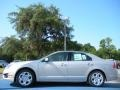 2010 Smokestone Metallic Ford Fusion SE  photo #2