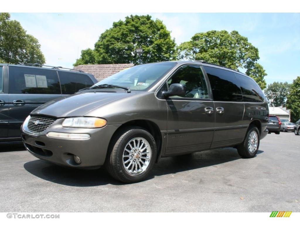 1999 taupe frost metallic chrysler town country limited awd 33882355 photo 3. Black Bedroom Furniture Sets. Home Design Ideas