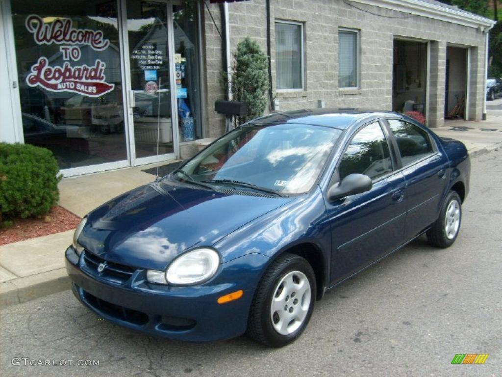 2002 Patriot Blue Metallic Dodge Neon 33882357 Gtcarlot