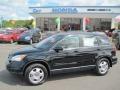 2010 Crystal Black Pearl Honda CR-V LX  photo #1