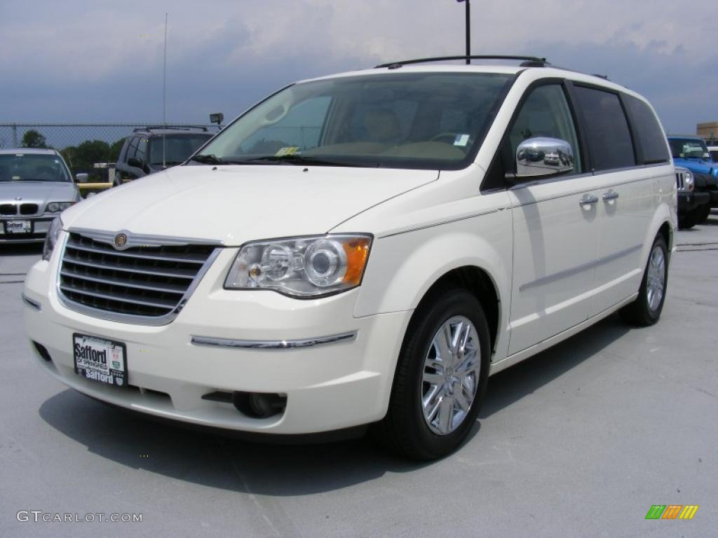 2008 stone white chrysler town country limited 33882537 car color galleries. Black Bedroom Furniture Sets. Home Design Ideas