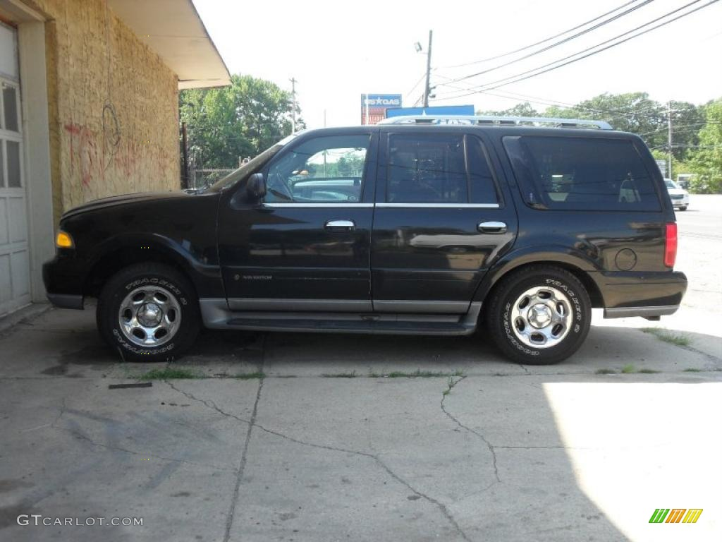2001 Black Clearcoat Lincoln Navigator 4x4 33882183 Car Color Galleries