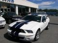 2007 Performance White Ford Mustang Shelby GT500 Coupe  photo #2