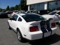 2007 Performance White Ford Mustang Shelby GT500 Coupe  photo #7