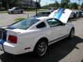 2007 Performance White Ford Mustang Shelby GT500 Coupe  photo #26