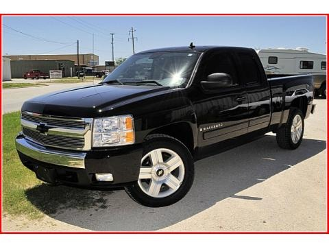 2007 Chevrolet Silverado 1500 LT Extended Cab Texas Edition Data, Info