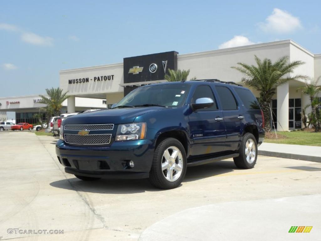 2007 bermuda blue metallic chevrolet tahoe ltz 33935597 gtcarlot com car color galleries