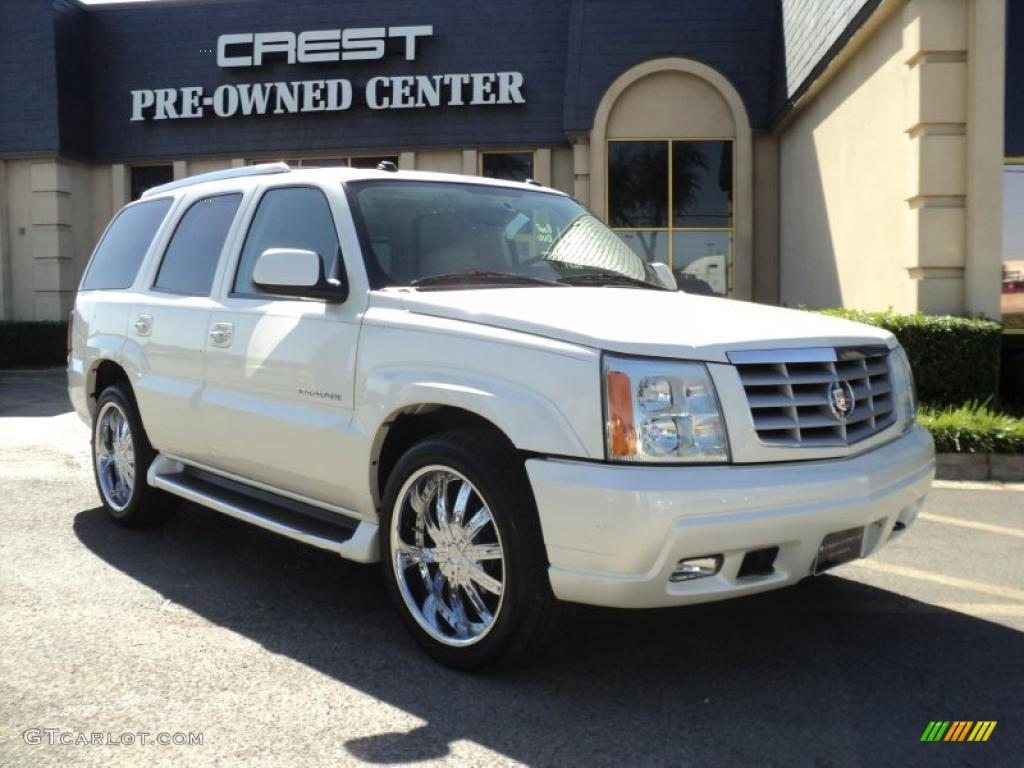 2004 white diamond cadillac escalade 33987156 car color galleries. Black Bedroom Furniture Sets. Home Design Ideas
