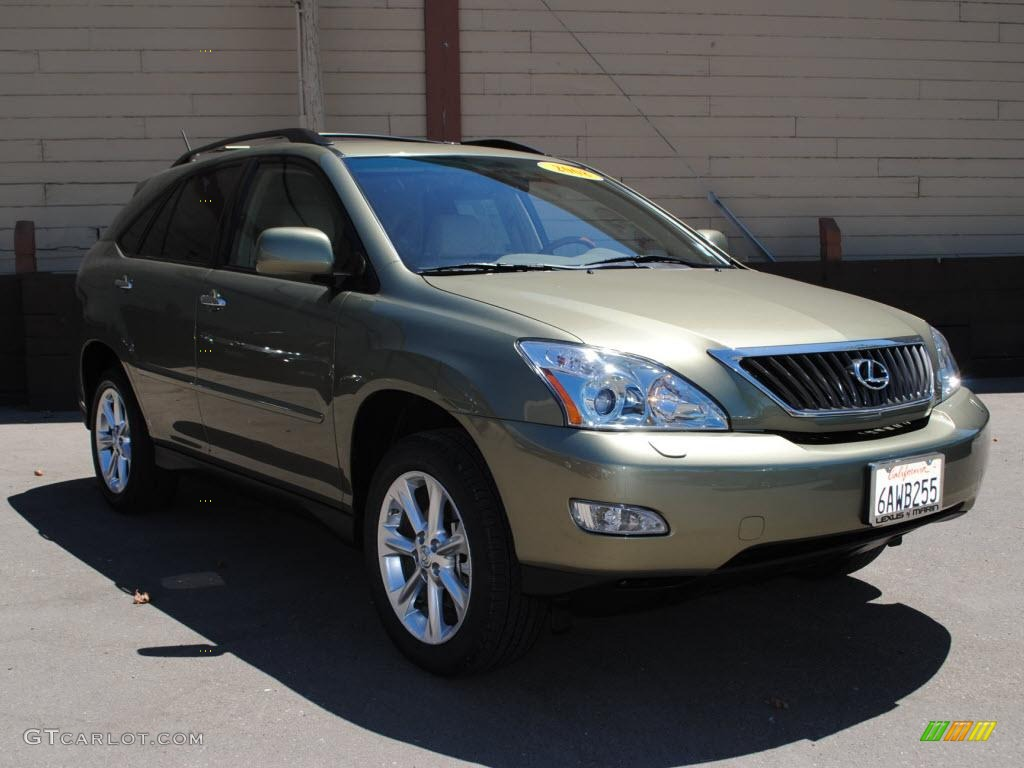 2008 desert sage metallic lexus rx 350 awd 33987447. Black Bedroom Furniture Sets. Home Design Ideas