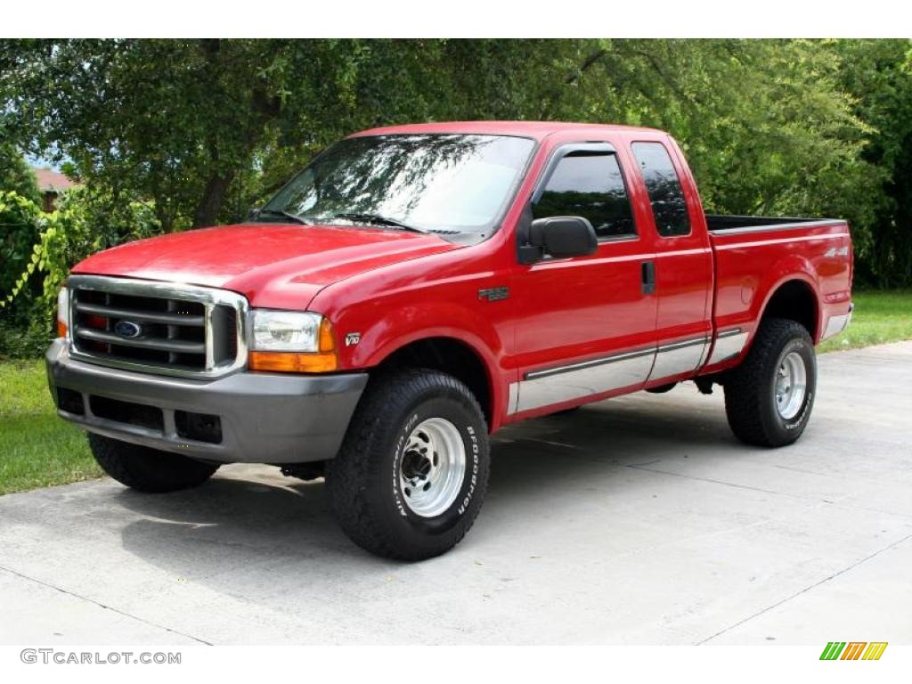 1999 red ford f250 super duty lariat extended cab 4x4 33986967 car color galleries. Black Bedroom Furniture Sets. Home Design Ideas