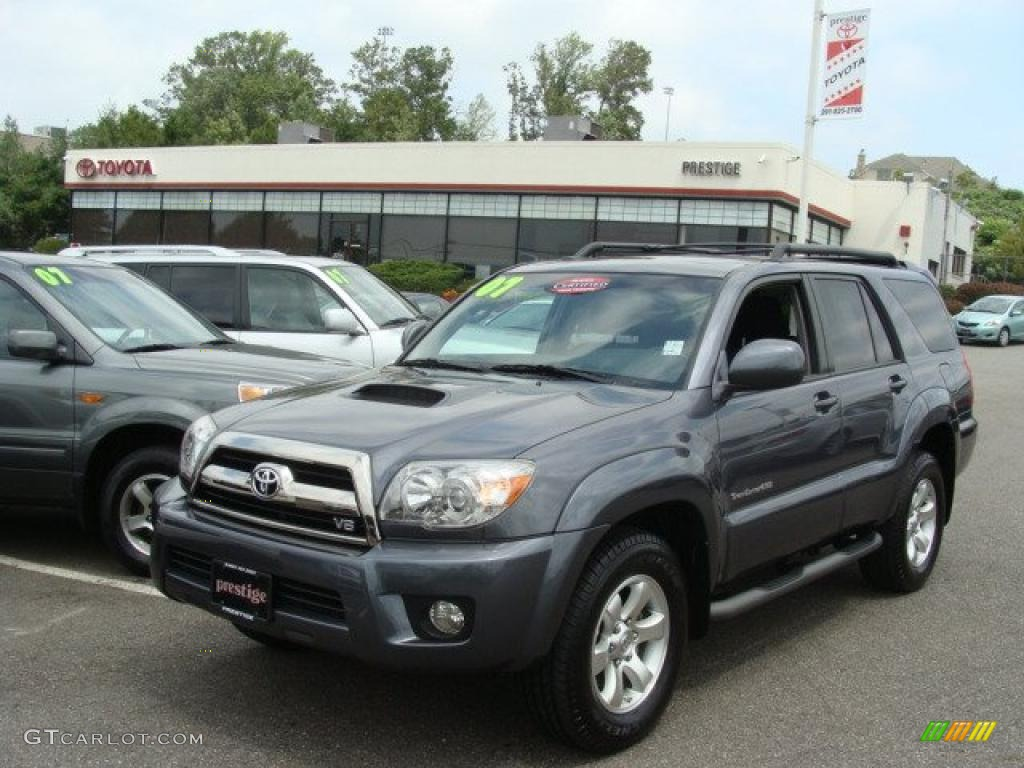 2007 galactic gray mica toyota 4runner sport edition 4x4 33986992 car color. Black Bedroom Furniture Sets. Home Design Ideas