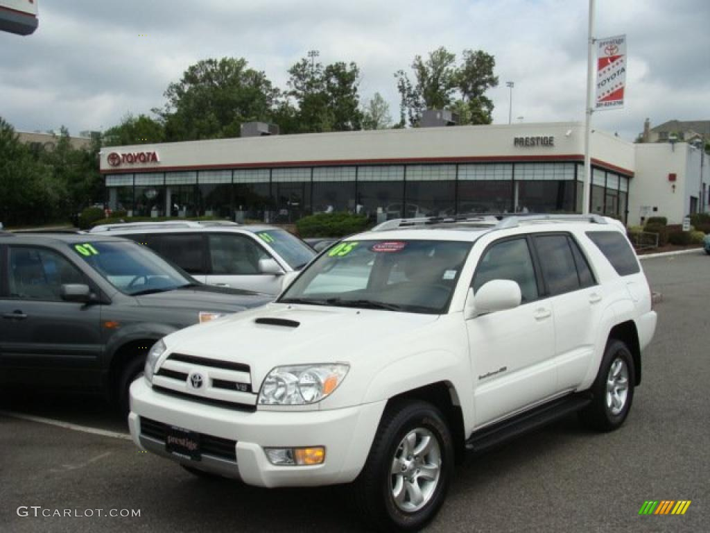 2005 Natural White Toyota 4runner Sport Edition 4x4 33986996 Gtcarlot Com Car Color Galleries
