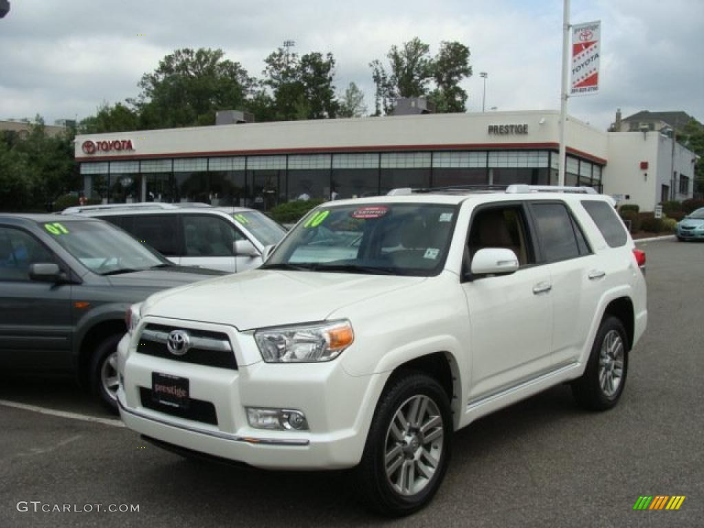 2010 Blizzard White Pearl Toyota 4runner Limited 4x4 33987001 Gtcarlot Com Car Color Galleries