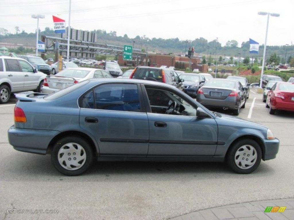 1997 cyclone blue metallic honda civic lx sedan 34095153 photo 8 car color. Black Bedroom Furniture Sets. Home Design Ideas