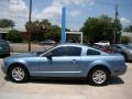2006 Windveil Blue Metallic Ford Mustang V6 Deluxe Coupe  photo #5