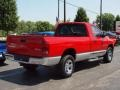 2002 Flame Red Dodge Ram 1500 SLT Regular Cab 4x4  photo #3