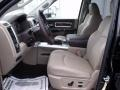 2010 Brilliant Black Crystal Pearl Dodge Ram 3500 Laramie Crew Cab 4x4 Dually  photo #8