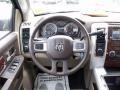2010 Brilliant Black Crystal Pearl Dodge Ram 3500 Laramie Crew Cab 4x4 Dually  photo #13